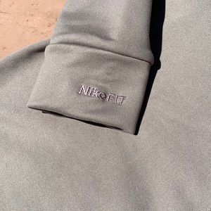 Nike Shirts & Tops - Nike FIT DRY Mock Turtleneck Base Layer S (4-6)
